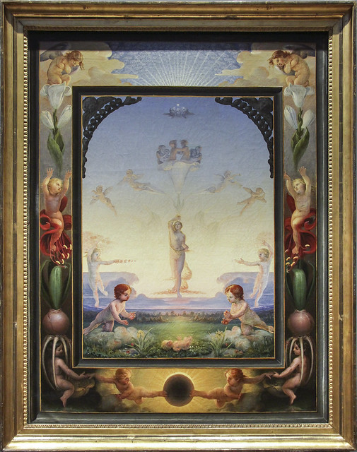 Morning (first Version), Philipp Otto Runge, 1808