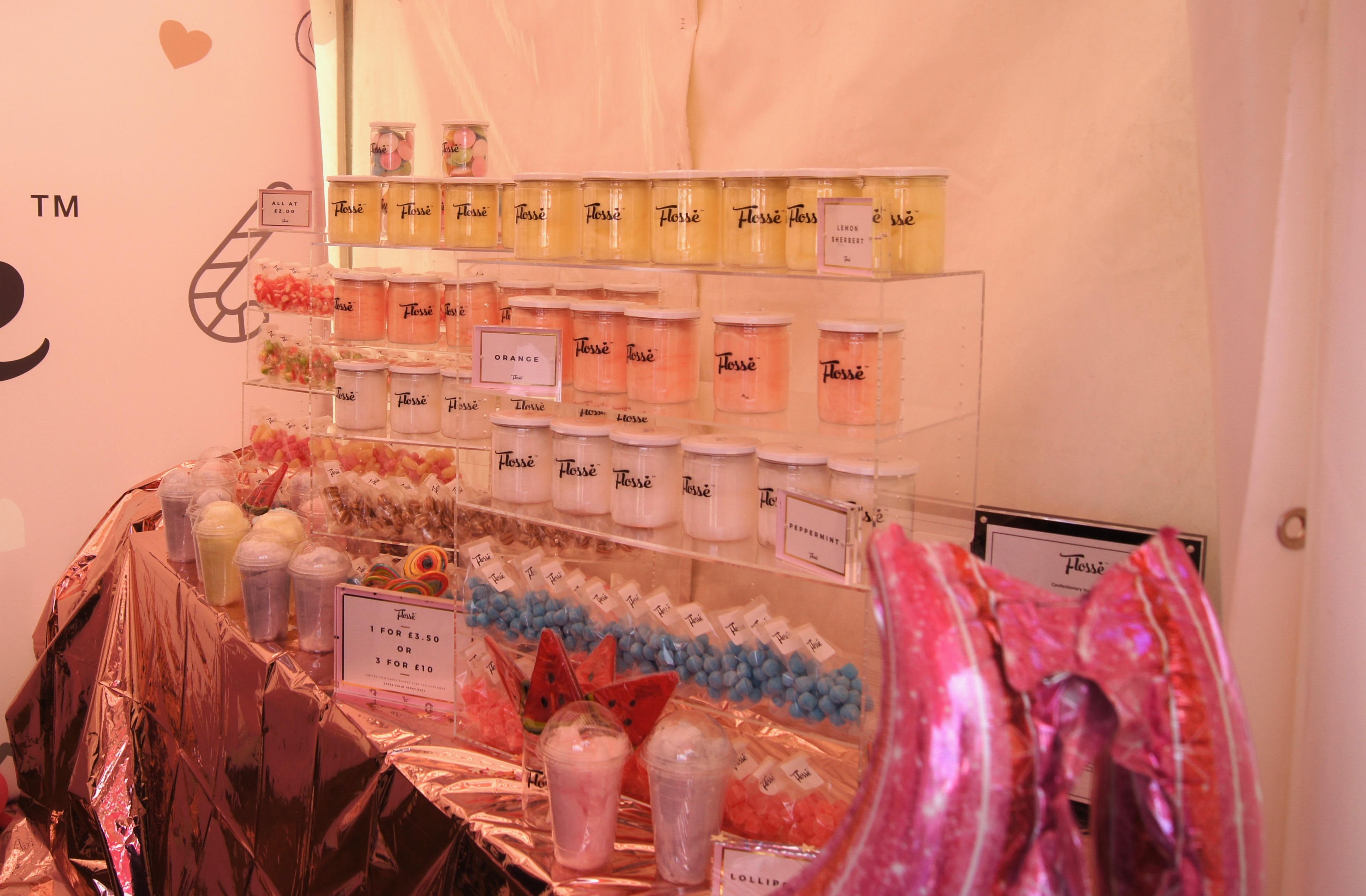 Manchester Eats Festival - candyfloss