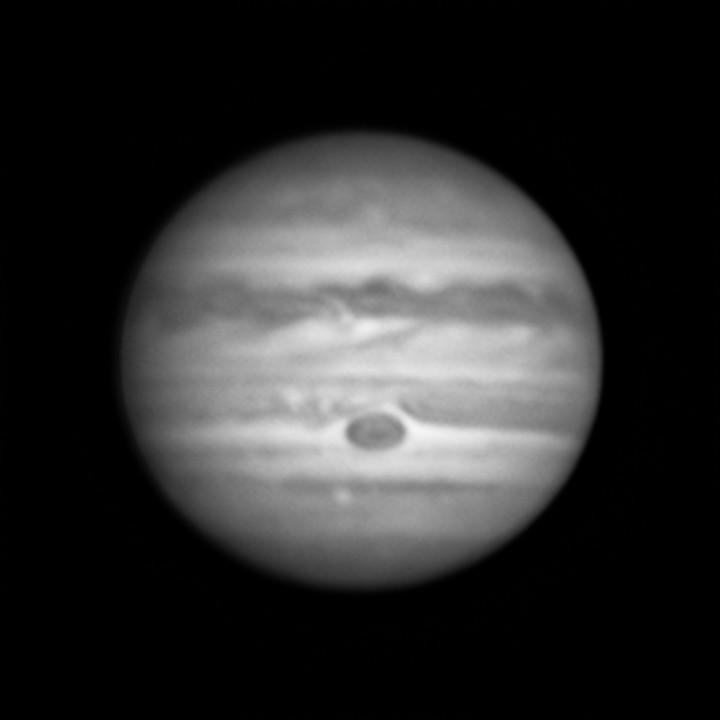 木星 (2018/7/15 20:48-20:53) (20:51, 3x de-rotation)