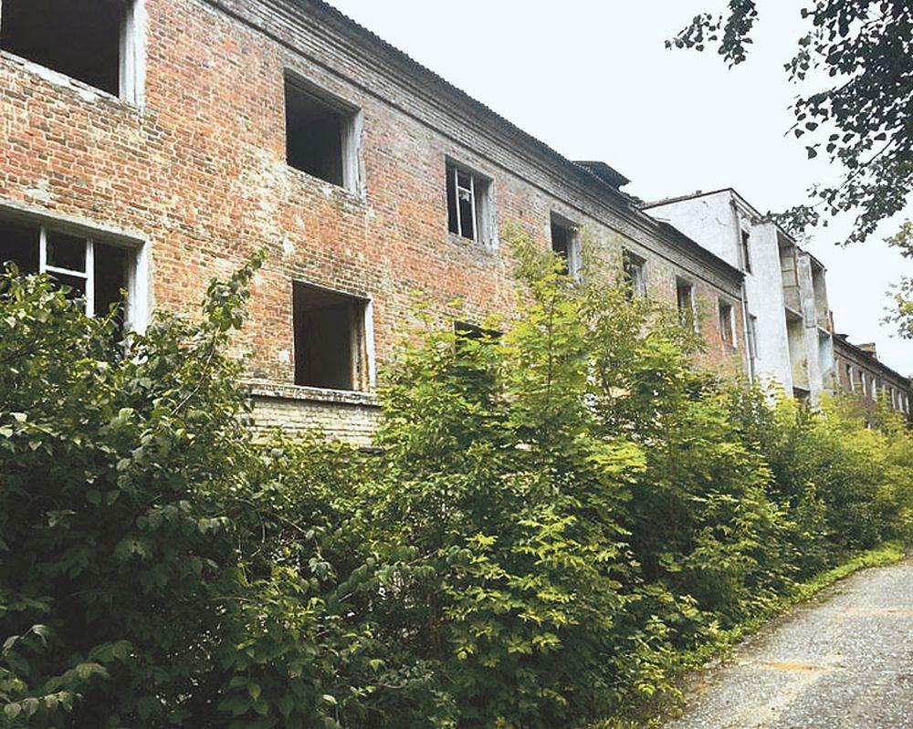 Развалины на Ленинской