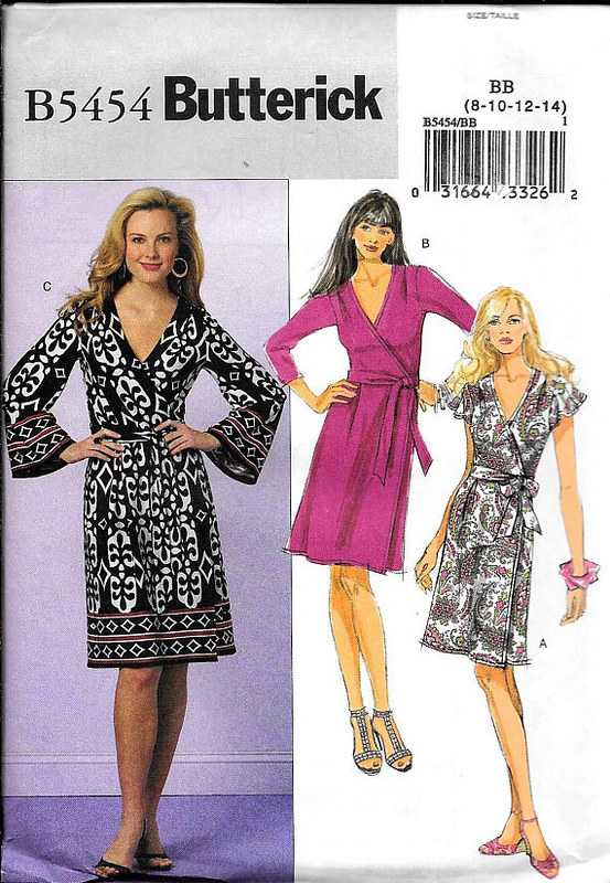 Butterick 5454 pattern envelope