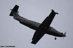 LX-JFY - 1542 - Jetfly - Pilatus PC-12 47E - Luton M1 J10, Bedfordshire - 2018 - Steven Gray - IMG_7122
