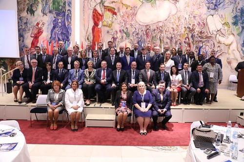 11.07.2018 Conferința Președinților Grupurilor parlamentare de prietenie cu Statul Israel