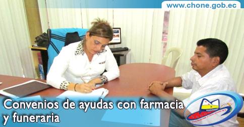 Convenios de ayudas con farmacia y funeraria