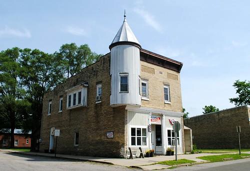 Corner of Lake & Liberty - Packwaukee, Wisconsin