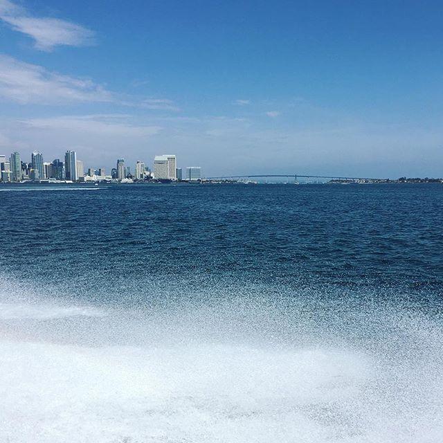So long, San Diego. ☀️🚤💦