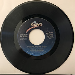 MICHAEL JACKSON:ROCK WITH YOU(RECORD SIDE-B)