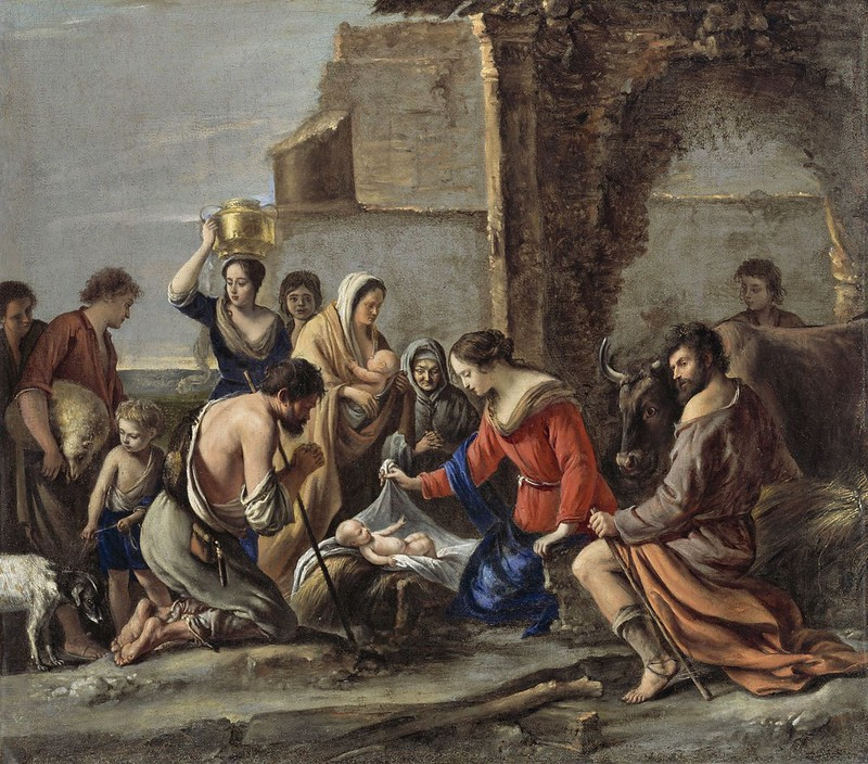 Le Nain Brothers - The Adoration of the Shepherds