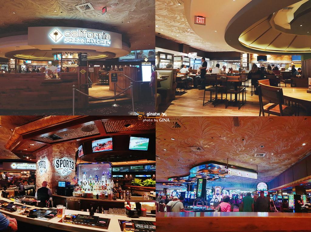 太陽馬戲團 「LOVE 愛」披頭四音樂秀》拉斯維加斯表演秀 +The Mirage飯店California Pizza Kitchen 餐廳吃披薩小酌 @Gina環球旅行生活