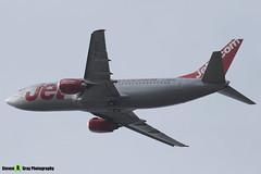 G-GDFE - 24131 - Jet2 - Boeing 737-3Q8(QC) - Donington - 180402 - Steven Gray - IMG_0442