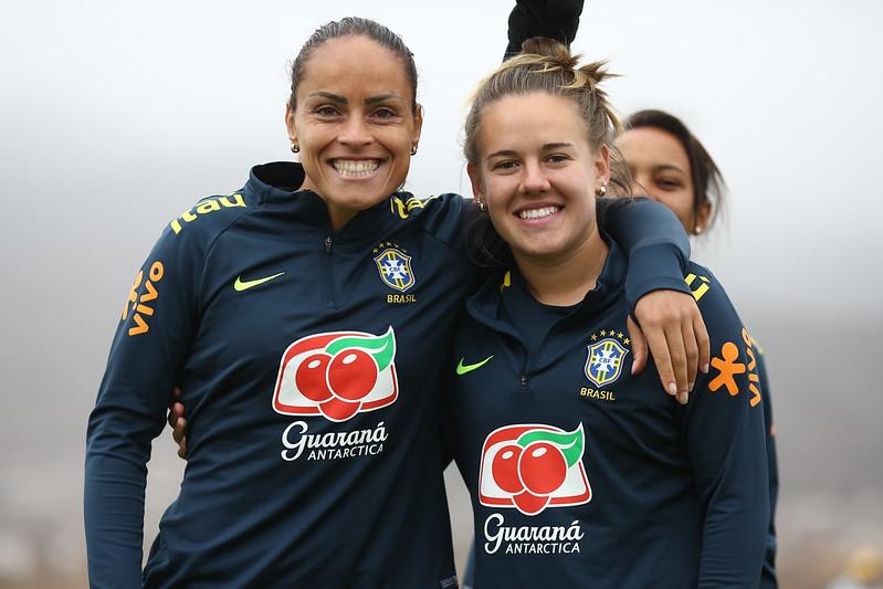 Treino da Seleção Feminina em La Serena