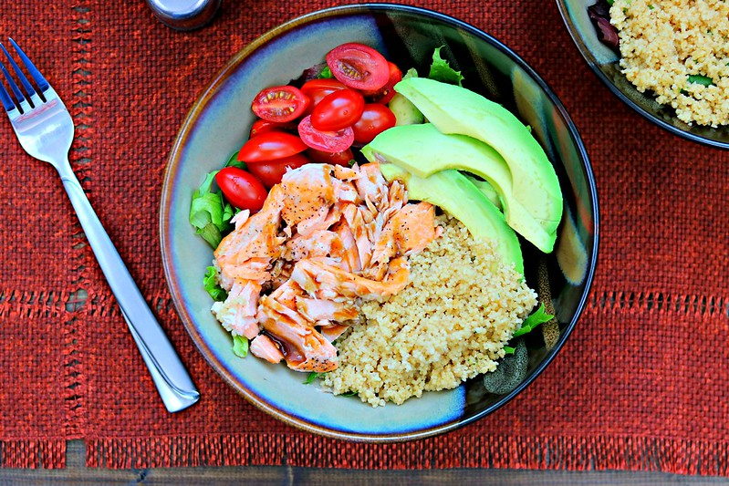 Salmon & Couscous Salad