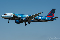Brussels airlines Magritte / A320 / OO-SNC