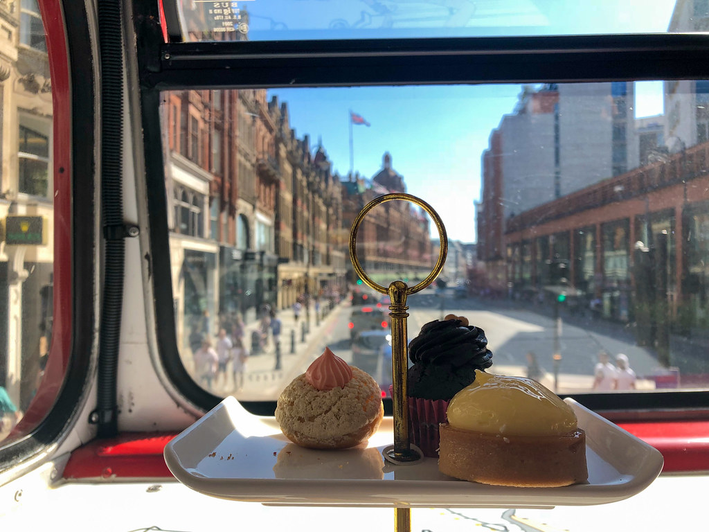 B Bakery Afternoon Tea Bus Tour