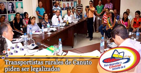 Transportistas rurales de Canuto piden ser legalizados