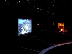 Xbox 1 poolside on a 14ft. screen. Oh the life my children have, lol