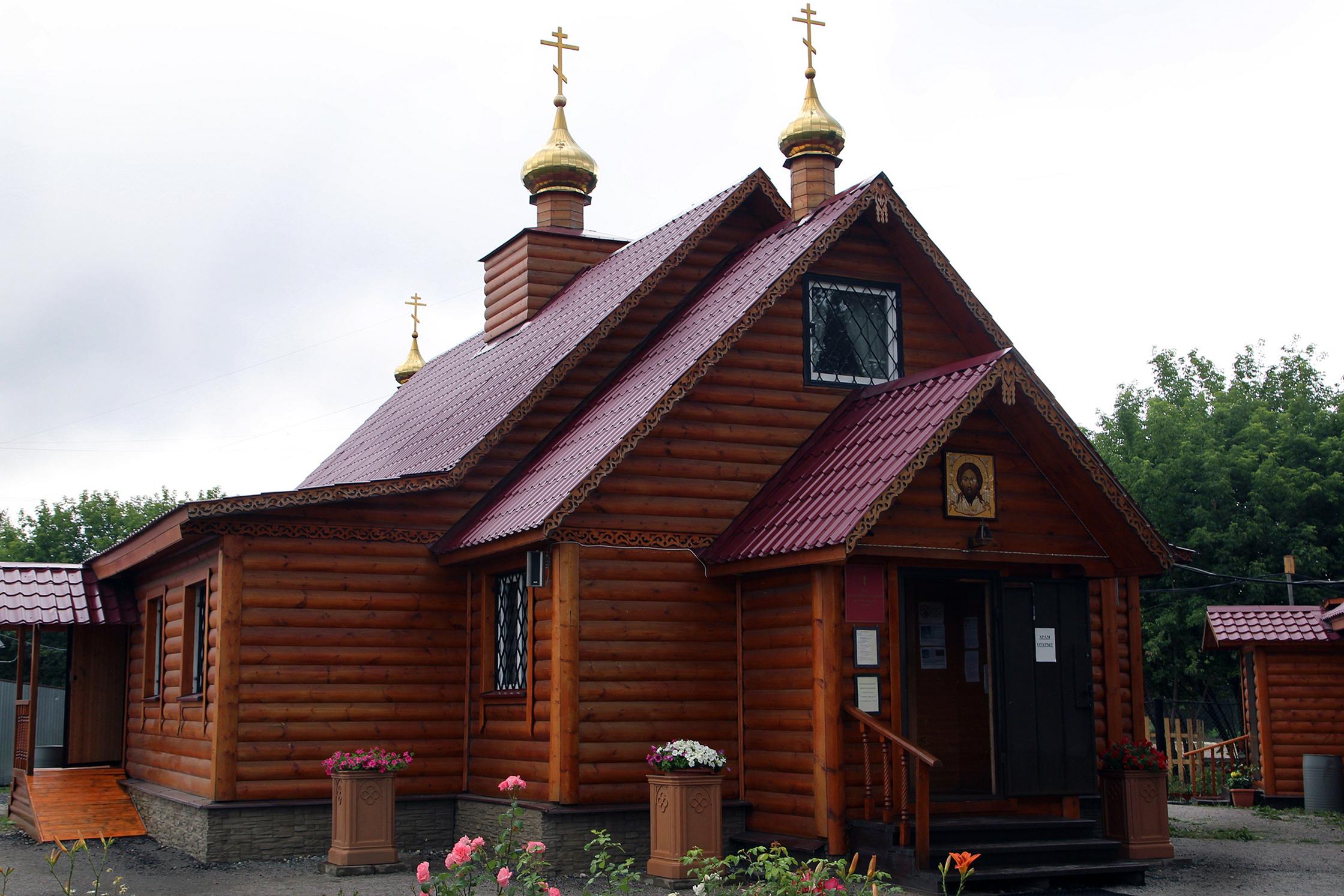 8 июля епископ Воскресенский Савва посетил Патриаршее подворье — храм свв. блгвв. Петра и Февронии Муромских в Марьине