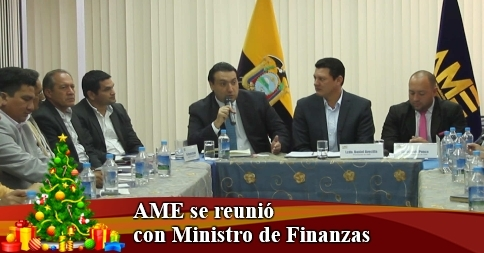 AME se reunió con Ministro de Finanzas