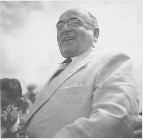 Getúlio Vargas em campanha presidencial