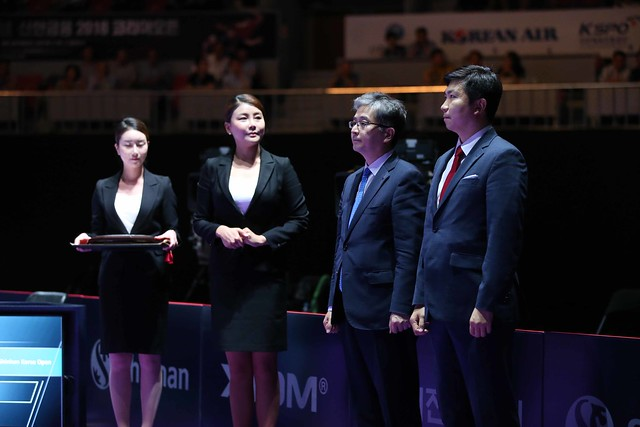 Day 4 - Seamaster 2018 ITTF World Tour Shinhan Korea Open