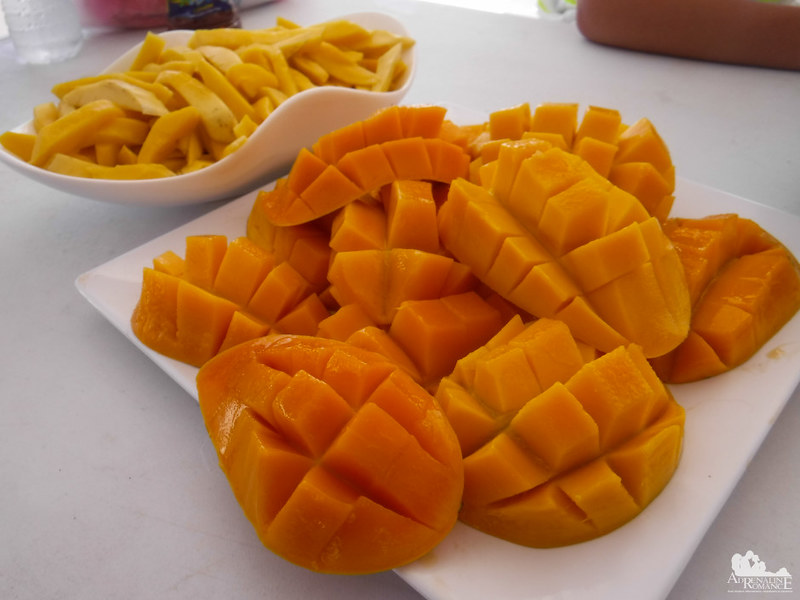 Sweet and sour mango