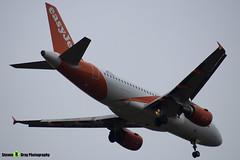 OE-LKD - 3720 - Easyjet - Airbus A319-111 - Luton M1 J10, Bedfordshire - 2018 - Steven Gray - IMG_7145