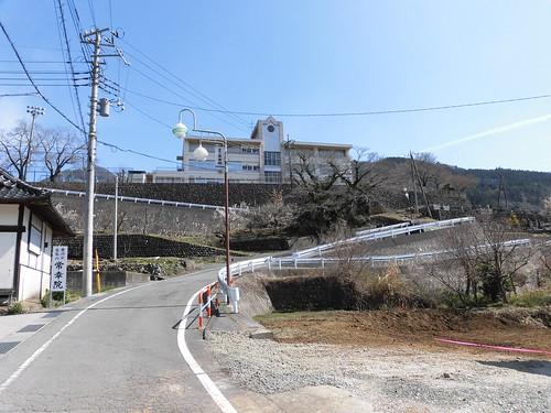 ゆるキャン△本栖高校ロケ地(下部小学校跡)