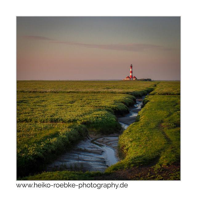 Leuchtturm / lighthouse Westerheversand