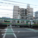 Tokaido Line E233 Series/E231 Series Train at Takizaka Crossing 2
