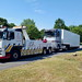 CA02TOW Recovering Renault Magnum Unit And Trailer Back To Caerphilly