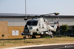 XZ728 Westland Lynx HMA.8, Royal Navy, RNAS Yeovilton, Ilchester, Somerset