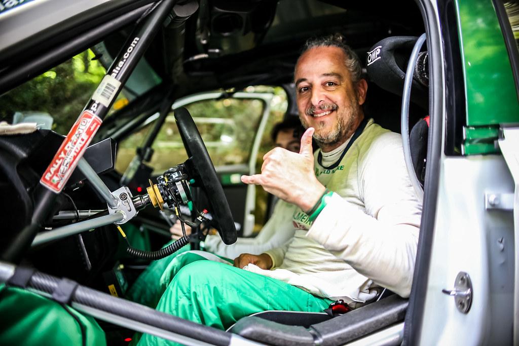 NOBRE Paulo (BRA), Gabriel Morales (BRA), Palmeirinha Rally, SKODA FABIA R5, portrait during the 2018 European Rally Championship ERC Rally di Roma Capitale,  from july 20 to 22 , at Fiuggi, Italia - Photo Thomas Fenetre / DPPI