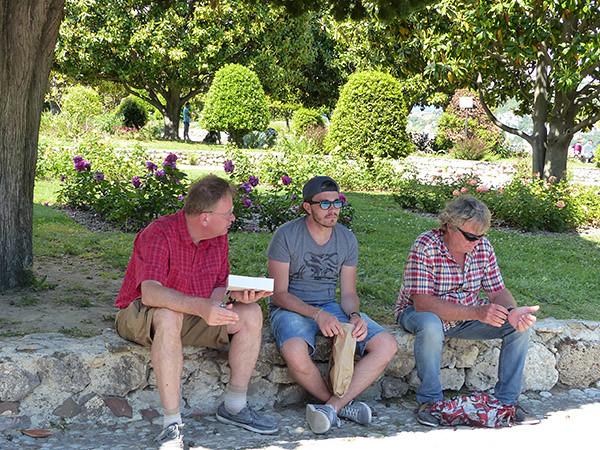 les trois gars