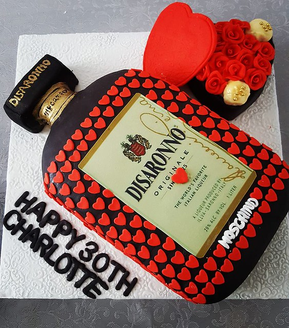 Disaronno Cake by Samantha's Little Cakery