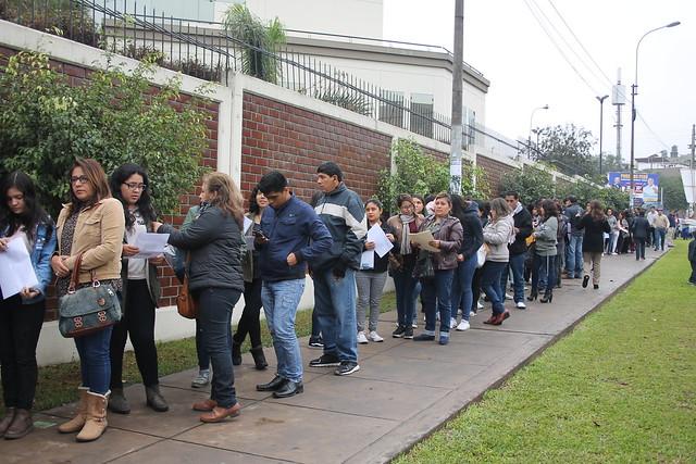 Universidad de San Martín de Porres llevó a cabo el Examen de Admisión y de Exonerados 2018-II