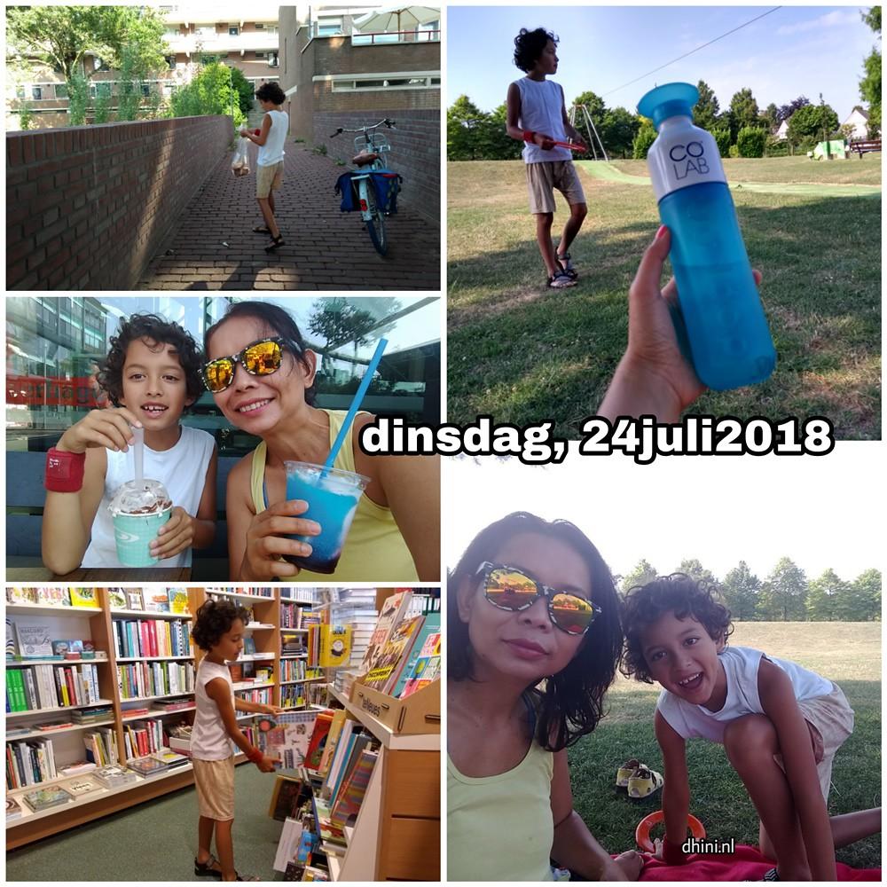 24 juli 2018 Snapshot