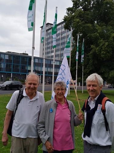 Flaggentag der Bürgermeister für den Frieden Berlin
