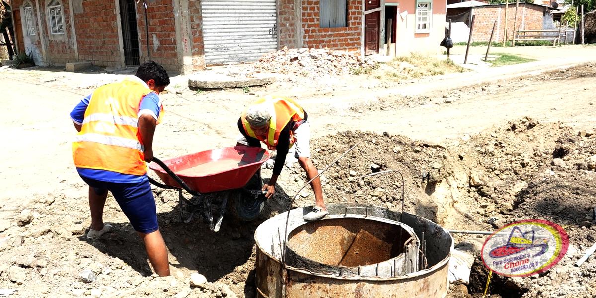 En El Vergel se ejecutan varias obras municipales