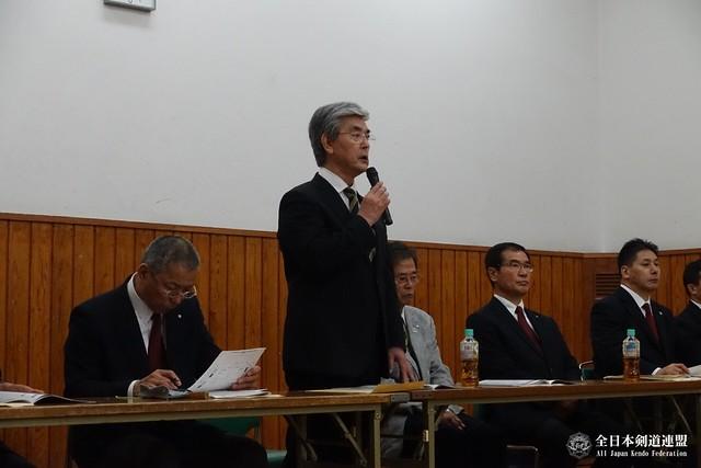 藤原崇郎試合・審判担当常任理事挨拶