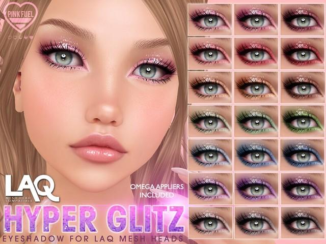 [PF] LAQ Eyeshadow - Hyper Glitz (Crystal Heart Festival)