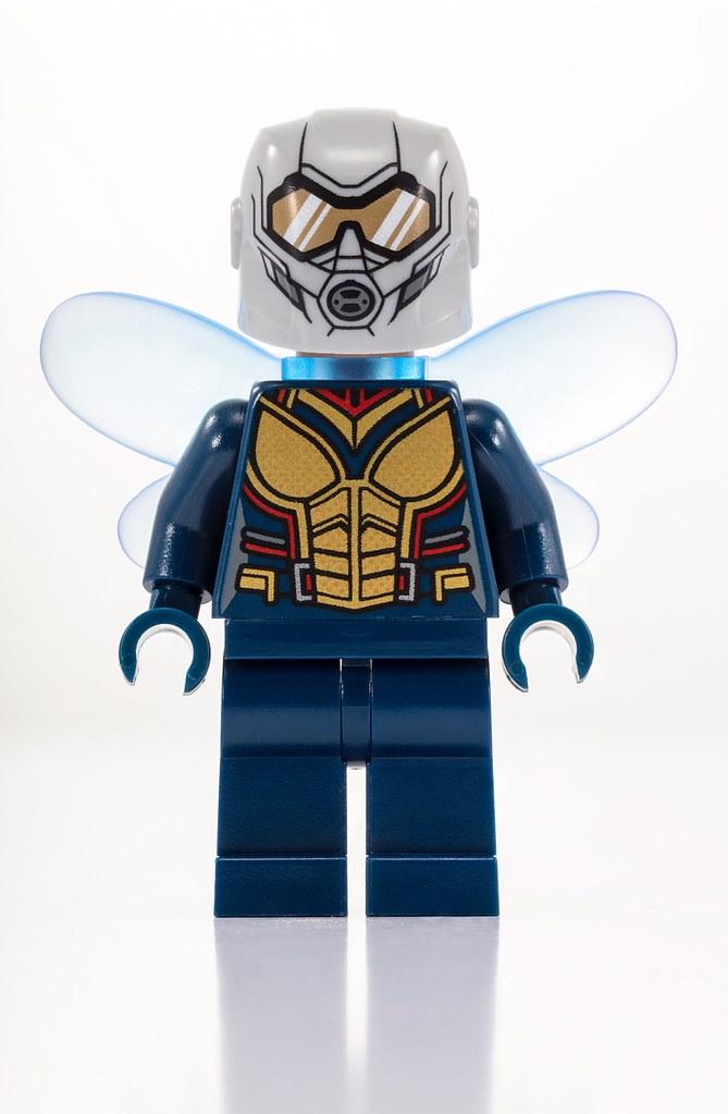 光是盒繪就讓人大興奮啦~! LEGO 75997 Marvel Super Heroes 系列【蟻人與黃蜂女】Ant-Man and the Wasp【2018 SDCC 限定】