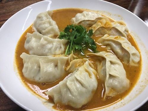 Momos in a dish. From Momos: 5 Things You Need to Know About this Nepalese Favorite