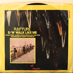 BLONDIE:RAPTURE(JACKET B)
