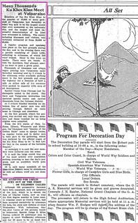 2018-7-27. Klan, News, 5-24-1923