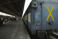 X marks the train #travel #india #punjab #chandigarh #street