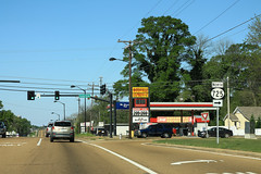 US278 MS6 West - MS725 North Sign