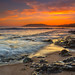 Shell Beach Sunset by Mimi Ditchie