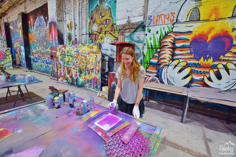Alternative Street Art Tour & Workshop Berlin