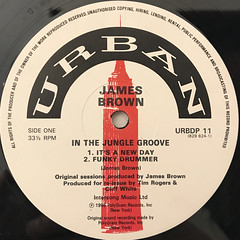 JAMES BROWN:IN THE JUNGLE GROOVE(LABEL SIDE-A)