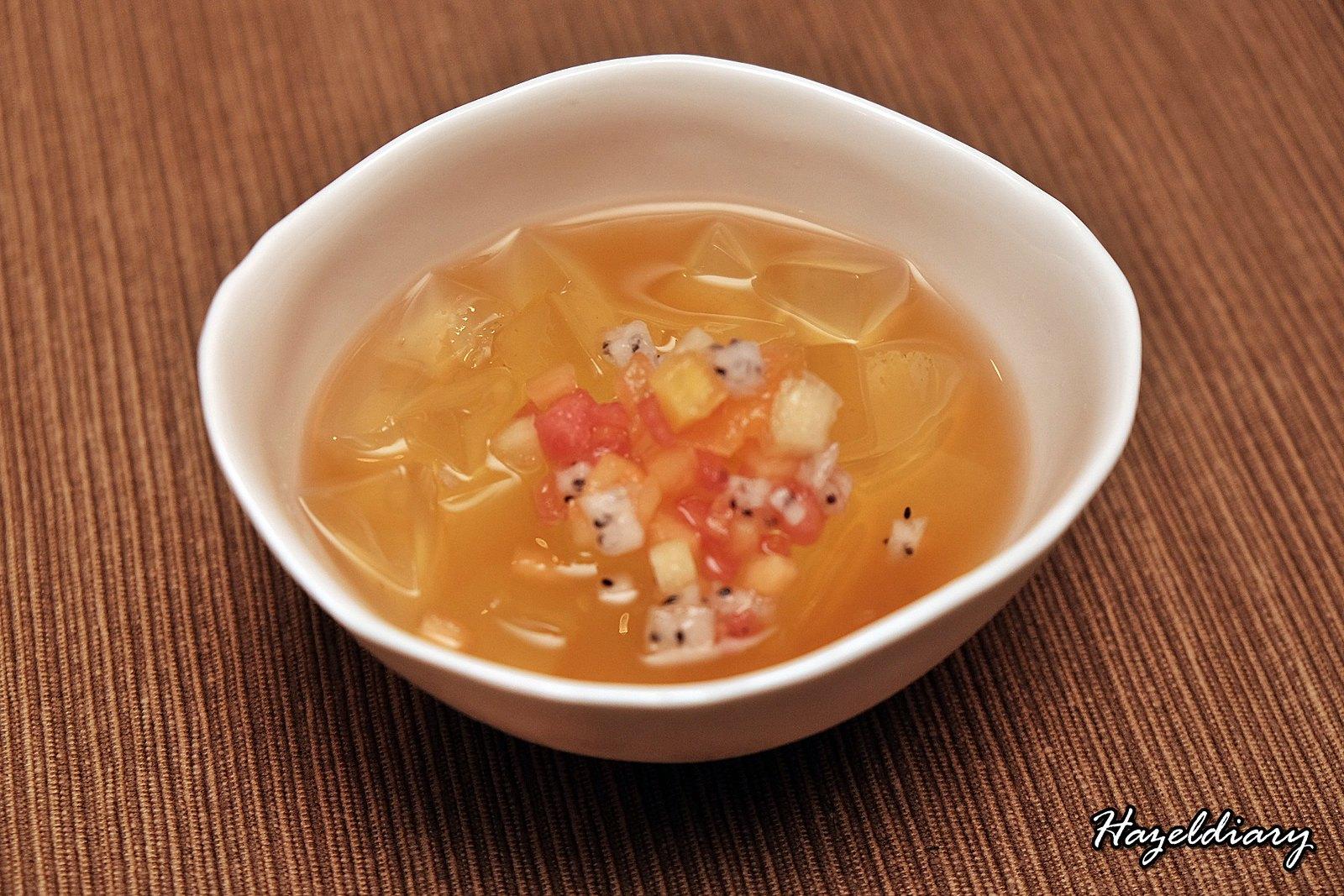 Yellow Pot Restaurant Six Senses Duxton-Lemongrass Jelly Fruits